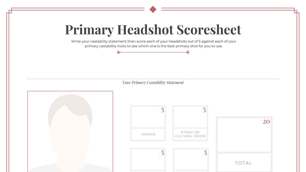 Headshot Scoresheet Featured Image